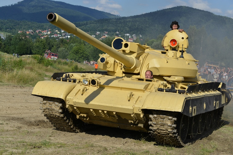 Czołg T-55AM Merida