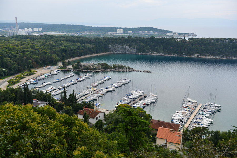 Croatia / Chorwacja miasto Omisajl nawyspie Krk
