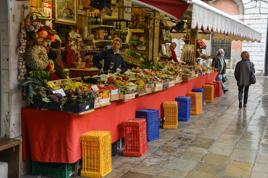 Wenecja- Włochy / Venice- Italy Market