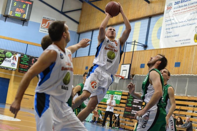 Trener DAAS Basket Hills Bielsko-Biała, Grzegorz Błotko wakcji