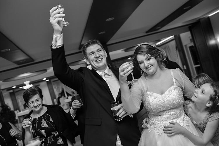 Toasty na weselu Kasi i Maćka