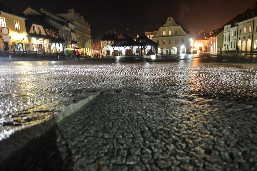 Kazimierz Dolny nadWisłą, Rynek wnocy