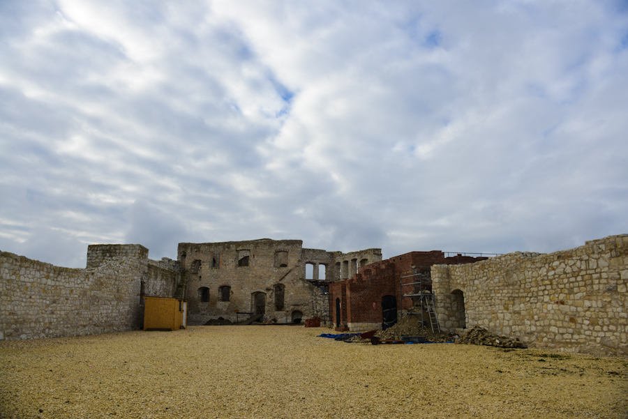 Kazimierz Dolny nadWisłą, ruiny zamku