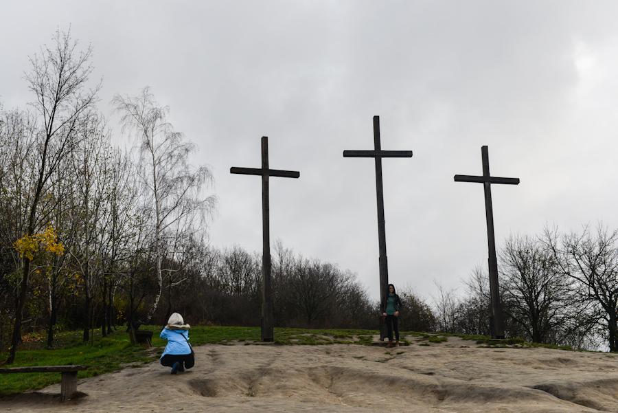 Kazimierz Dolny nadWisłą, wzgórze trzech krzyży