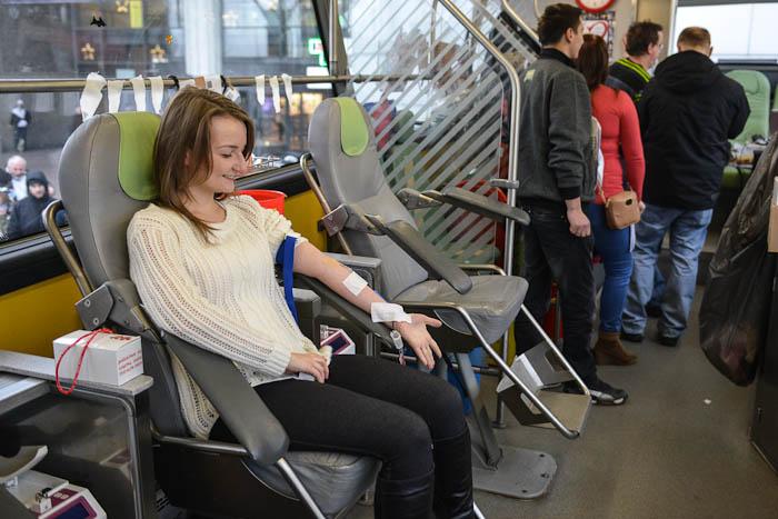 Ambulans dopobierania krwi
