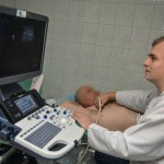Ultrasonograf zezrzutki