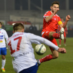 Piłka nożna: TS Podbeskidzie Bielsko-Biała: Widzew Łódź