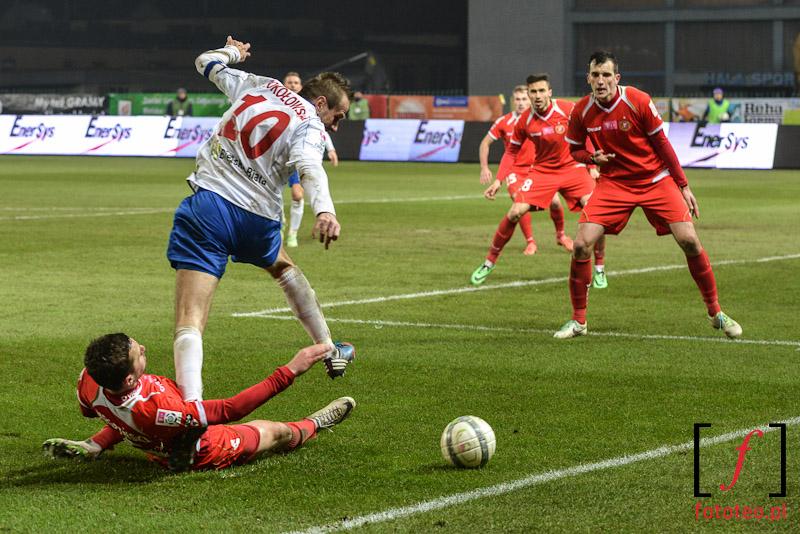 Gracz Podbeskidzia Bielsko-Biała Sokołowski