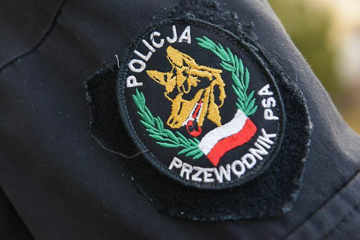 """Naszywka """"Policja Przewodnik Psa"""""""