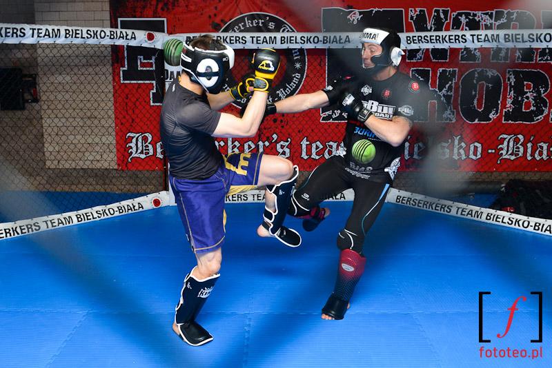 Marcin Held (Bellator) training in Bielsko-Biala