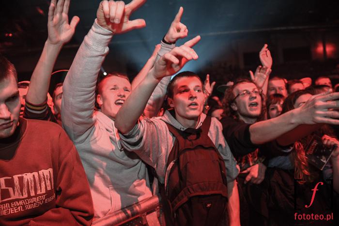 Burn in Snow 2014: publiczność pod sceną