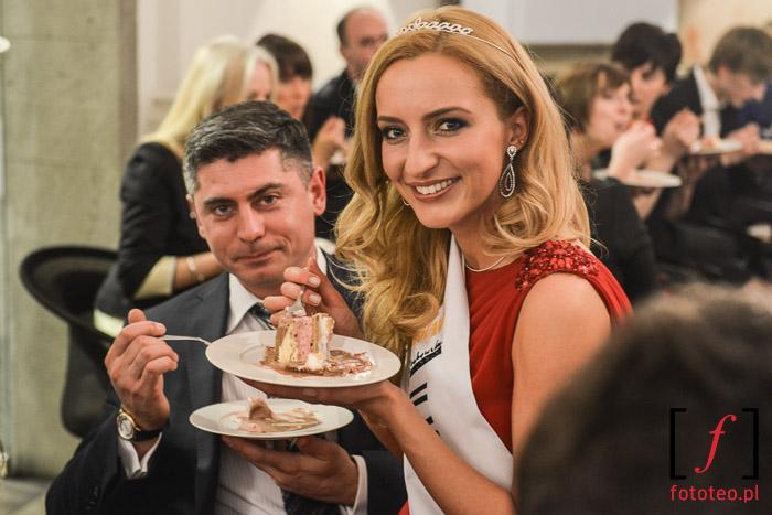 Klaudia Matlak-Dudek z mężem na Mrs. Poland 2014