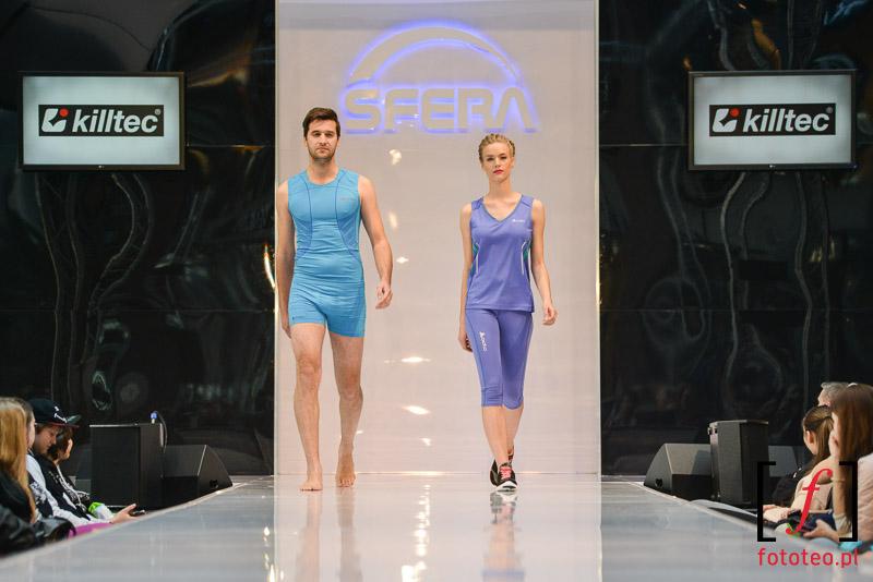Pokaz mody sportowej Bielsko-Biała