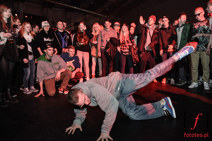 Breakdance w Bielsku-Białej, music photography