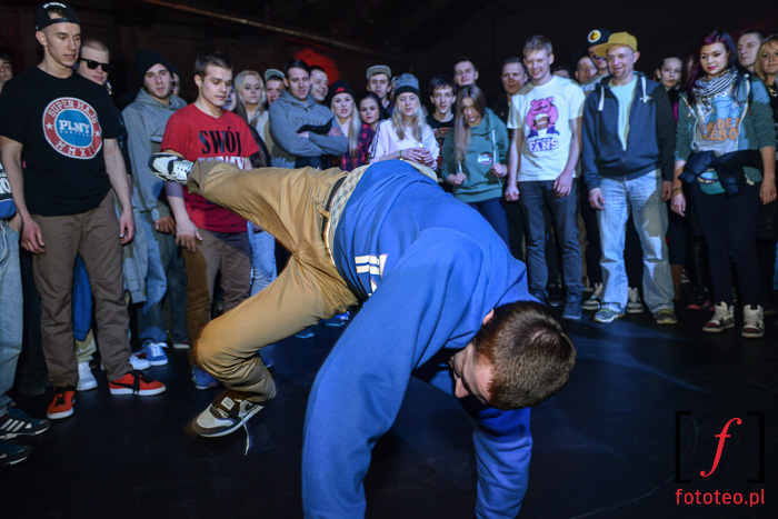 Break dance, bboye podczas koncertu