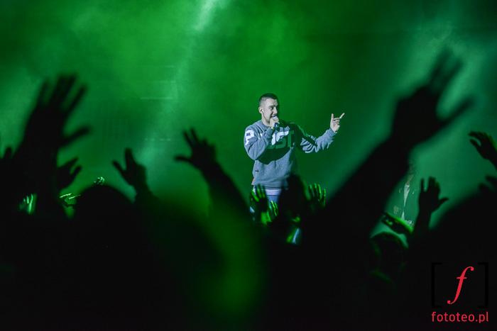 Koncert Sokoła, polski hip-hop