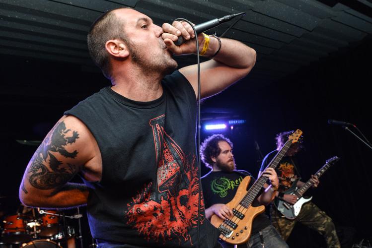 Metal vocalist: Vengince