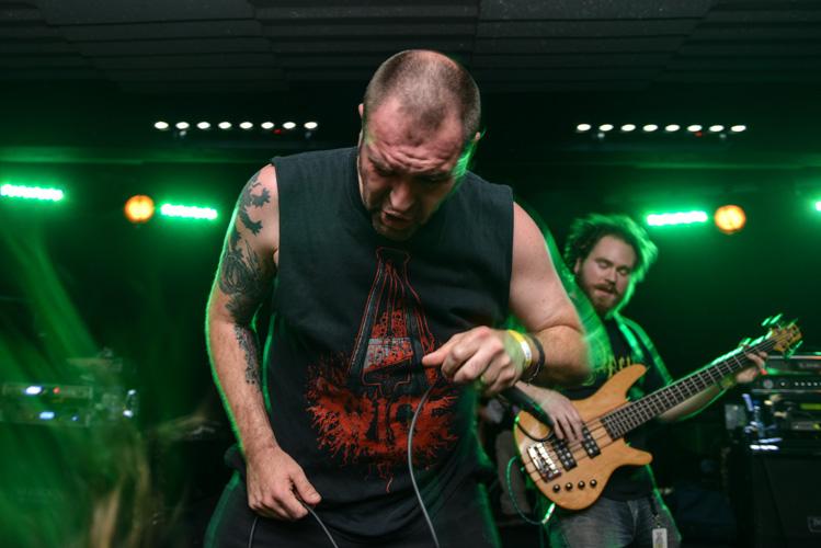 Vengince metal band concert in Ostrava