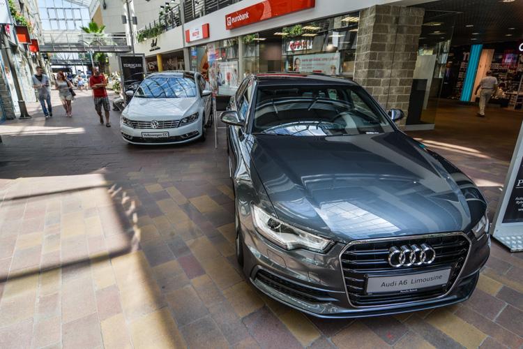 Wystawa motoryzacyjna Motosfera w Bielsku-Białej, Audi A6