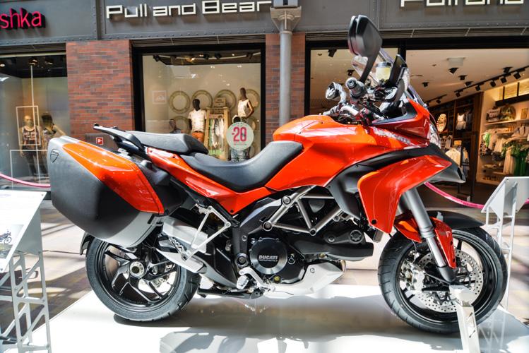 Wystawa motoryzacyjna Motosfera w Bielsku-Białej, Motocykl Ducati