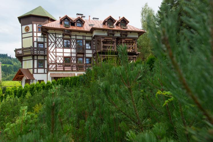 Dworek w Wiśle, fotografia hotel