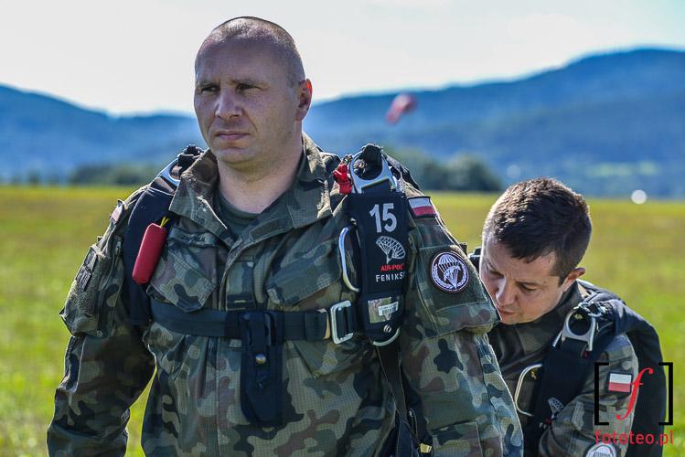 Sprawdzanie spadochronu, Bielsko-Biala