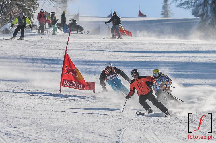 Fotoreportaz z zawodow narciarskich