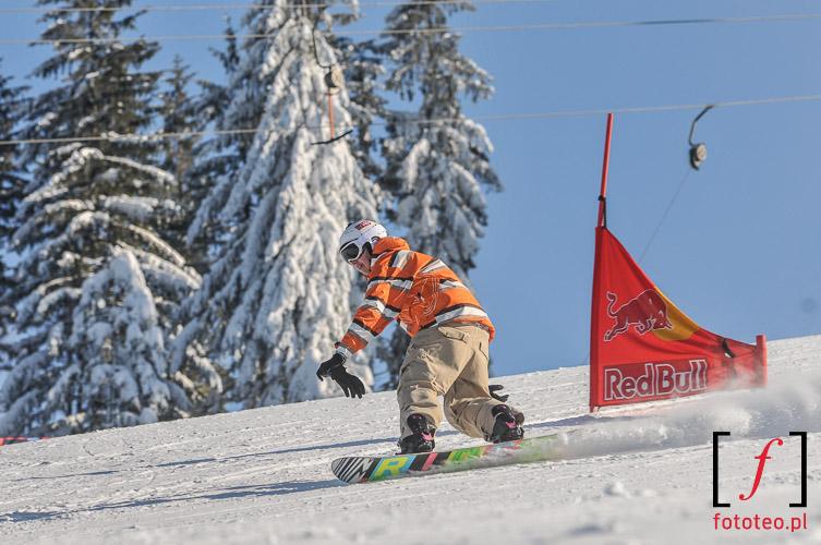 Sporty ekstremalne snowboard