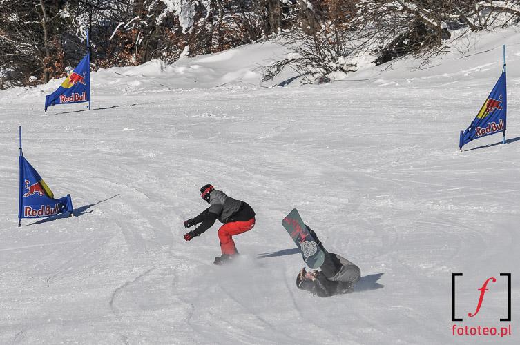 Snowboard contest, Szczyrk, Poland