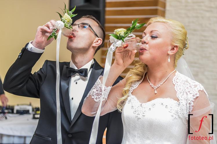 toast szampanem slub Zywiec