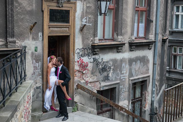 fotograf Bielsko, plener slubny na Rynku