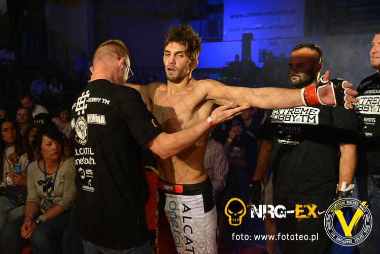 Zawodnik MMA Marian Ziolkowski