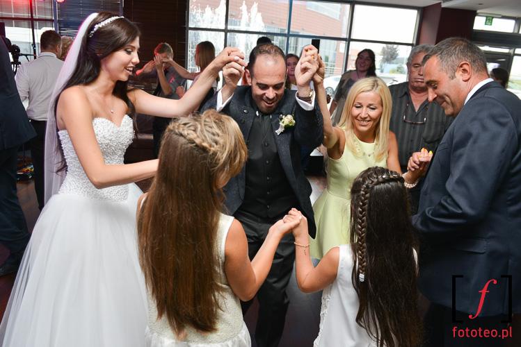 Fotoreportaz z przyjecia weselnego