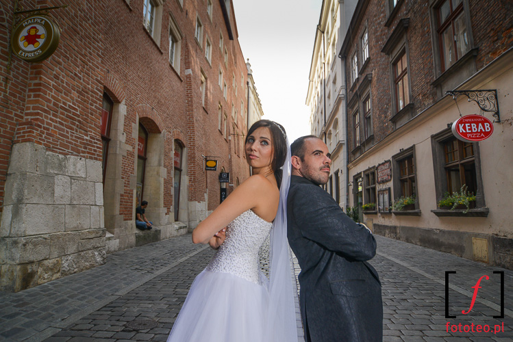 Slubna sesja Krakow Stare Miasto