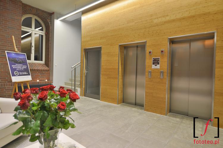 Lobby budynku. fotograf Slask
