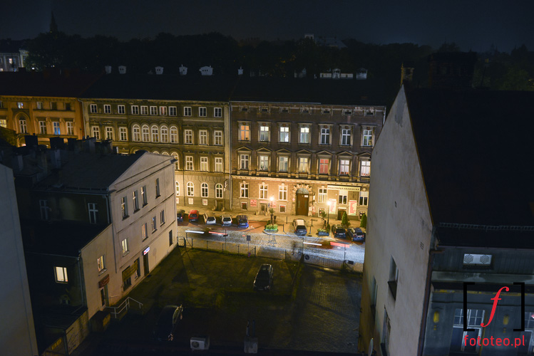 Widok na ulice Barlickiego Bielsko-Biala