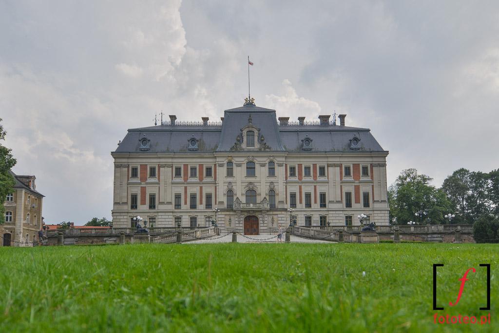 Zamek wPszczynie foto